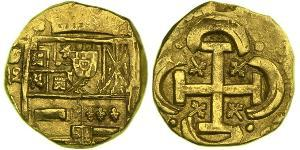 8 Escudo Habsburg Spain (1506 - 1700) Gold Philip IV of Spain (1605 -1665)