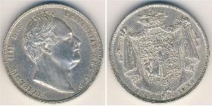 1/2 Krone Regno Unito  Argento