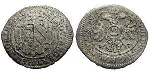 2 Крейцер Федеральні землі Німеччини Срібло Леопольд I Габсбург(1640-1705)