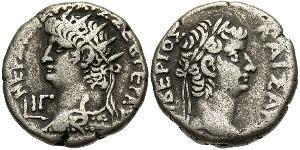 1 Tetradrachm 羅馬帝國 銀 Nero  (37- 68)