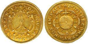 1 Gulden Schweiz Gold
