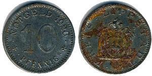 10 Pfennig Principality of Lippe (1123 - 1918)