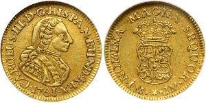 1 Escudo Pérou Or Charles III d