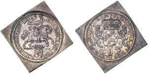 3 Ducaton Republik der Sieben Vereinigten Provinzen (1581 - 1795) Silber