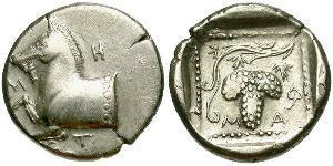 Triobol Antikes Griechenland (1100BC-330) Silber