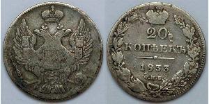 20 Kopeke Russisches Reich (1720-1917)