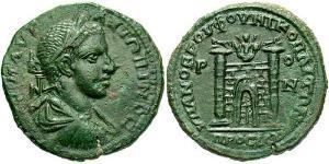 AE_ Римская империя (27BC-395) Бронза Гелиогабал (203-222)