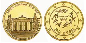 100 Euro 希腊 金