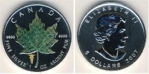 5 Dollar Kanada Silber