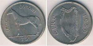 1/2 Krone Irland (1922 - ) Kupfer/Nickel