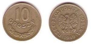 10 Grosh Polen Kupfer/Nickel