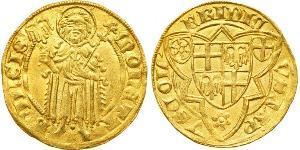 1 Gulden Stati federali della Germania Oro