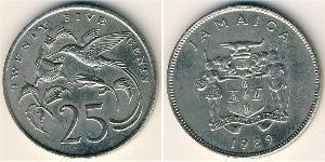 25 Cent Jamayica (1962 - ) Cuivre/Nickel