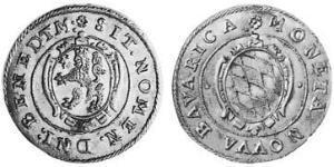 24 Крейцер Бавария (герцогство) (907 - 1623) Серебро Максимилиан I (курфюрст Баварии)(1573 – 1651)