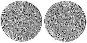 1 Thaler County of Arenberg (1549 - 1810) 銀