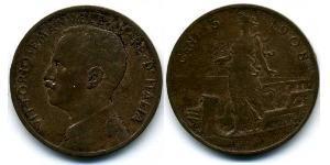 5 Centesimo Kingdom of Italy (1861-1946) Cobre