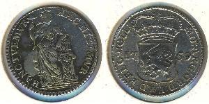 1/4 Gulden Dutch Republic (1581 - 1795) Silver