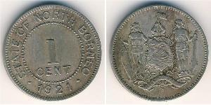 1 Цент Північний Борнео (1882-1963)
