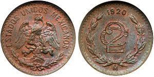 2 Сентаво Мексиканські Сполучені Штати (1867 - )