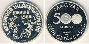 500 Forint Ungheria (1989 - ) Argento