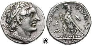 1 Tetradracma Período Helenístico (332BC-30BC) Plata Ptolomeo II Filadelfo (309BC-246BC)