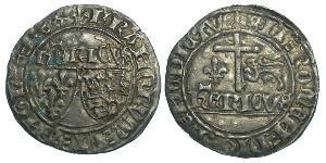 Francia medioevale (843-1791) Argento Enrico VI (1421-1471)