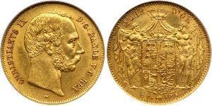 Данія Золото Крістіан IX король Данії (1818-1906)