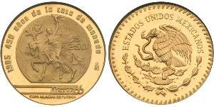 250 Peso United Mexican States (1867 - ) Gold