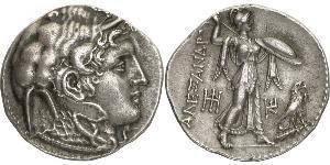 1 Tetradrachm 托勒密王國 (305 BC - 30 BC) 銀