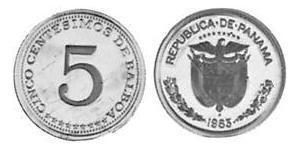 5 Centesimo 巴拿马 镍/銅