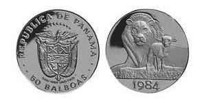 50 Balboa Republic of Panama Gold