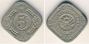 5 Cent Royaume des Pays-Bas (1815 - ) Cuivre/Nickel