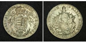1/2 Thaler Royaume de Hongrie (1000-1918) Argent Joseph II, Holy Roman Emperor  (1741 - 1790)