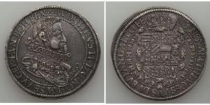 1 Талер Эльзас Серебро Рудольф II (1552 - 1612)