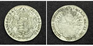1/2 Thaler Kingdom of Hungary (1000-1918) Silver Maria Theresa of Austria (1717 - 1780)