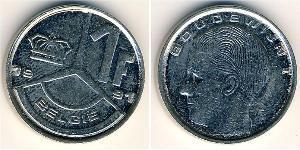 1 Franc 比利时 Steel/镍
