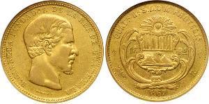 16 Песо Гватемала Золото