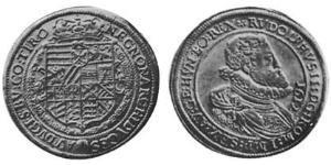 1/2 Талер Священная Римская империя (962-1806) Серебро Рудольф II (1552 - 1612)