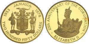 250 Dollar Jamayica (1962 - ) Or