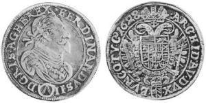 1/2 Thaler 神圣罗马帝国 (962 - 1806) 銀