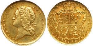 1 Guinea Royaume de Grande-Bretagne (1707-1801) Or George II (1683-1760)