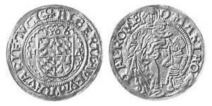 1 Goldgulden Бавария (герцогство) (907 - 1623) Золото