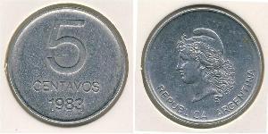 5 Centavo Argentinien (1861 - ) Aluminium