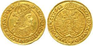 1 Дукат Священна Римська імперія (962-1806) / Австрія Золото Ferdinand III, Holy Roman Emperor (1608-1657)