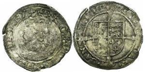 Гроут Королівство Англія (927-1649,1660-1707) Срібло Едвард VI  (1537-1553)