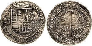 8 Real Spagna / Bolivia / Vicereame del Perù (1542 - 1824) Argento Filippo IV di Spagna (1605 -1665)