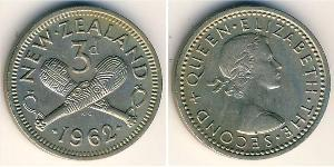 3 Penny 新西兰 镍/銅