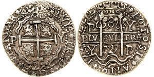 8 Real Bolivia / Viceroyalty of Peru (1542 - 1824) Silver