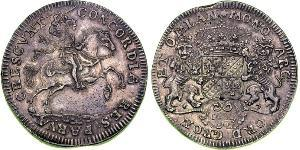2 Ducaton Republik der Sieben Vereinigten Provinzen (1581 - 1795) Silber