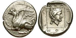 Драхма Древняя Греция (1100BC-330) Серебро